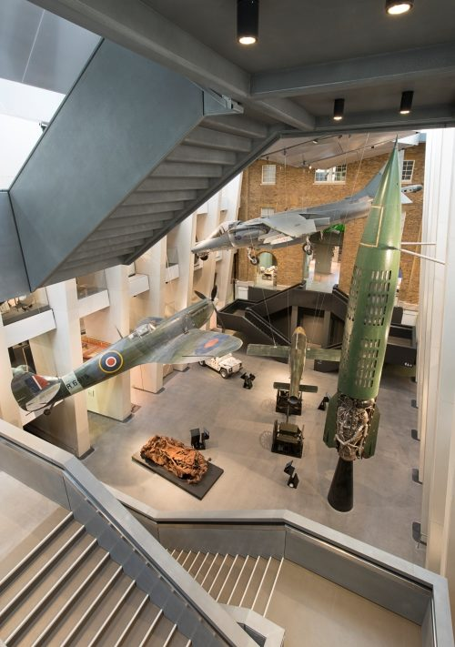 Exhibition at Imperial War Museum London