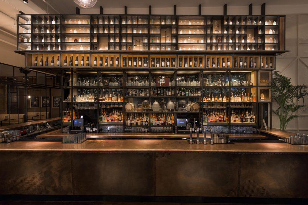 Bar at the Alchemist, Manchester.