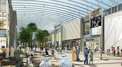 CGI of inside The Avenues shopping mall
