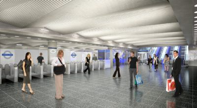 CGI of Broadgate Ticket Hall