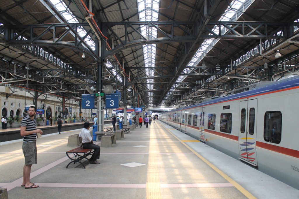 Platform at Kuala Lumpur Station