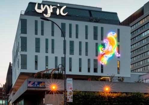 External view of Lyric Hammersmith Theatre. Copyright Jim Stephenson