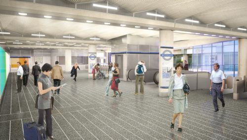 CGI - Moorgate Ticket Hall