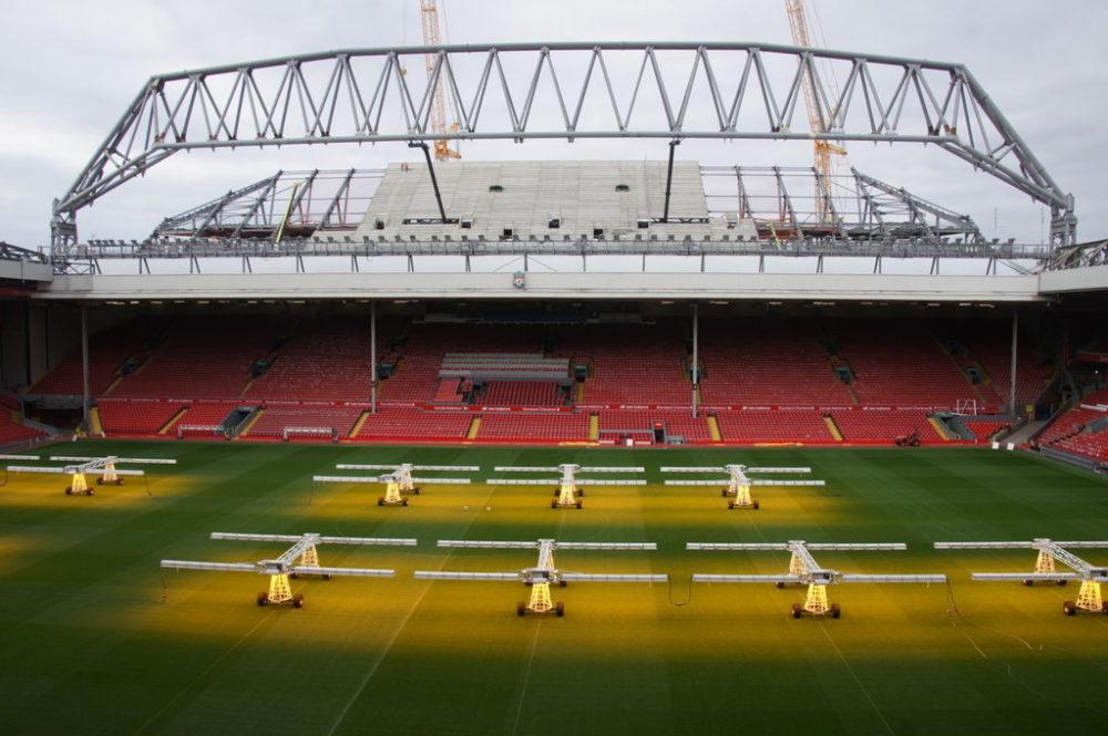 Anfield Stadium Main stand.