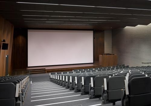 Lecture theatre, John Henry Brookes building, Oxford Brookes University.