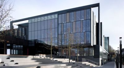 Exterior of the John Henry Brookes Building, Oxford Brookes University.