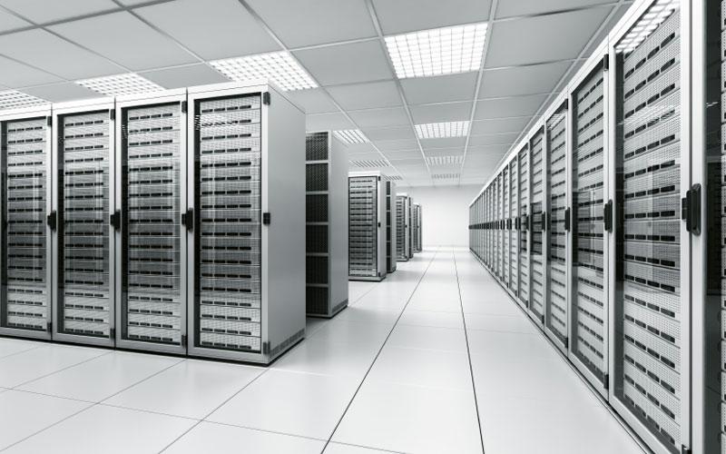 Stock data centre image
