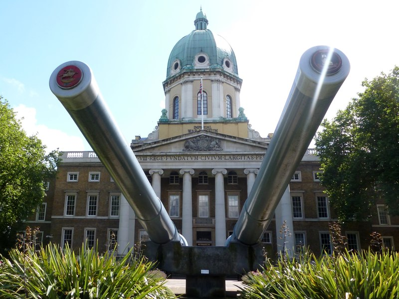 Exterior of the Imperial War Museum London.