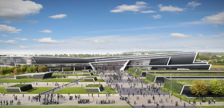 CGI image of AECC courtesy of Perceptive Communications