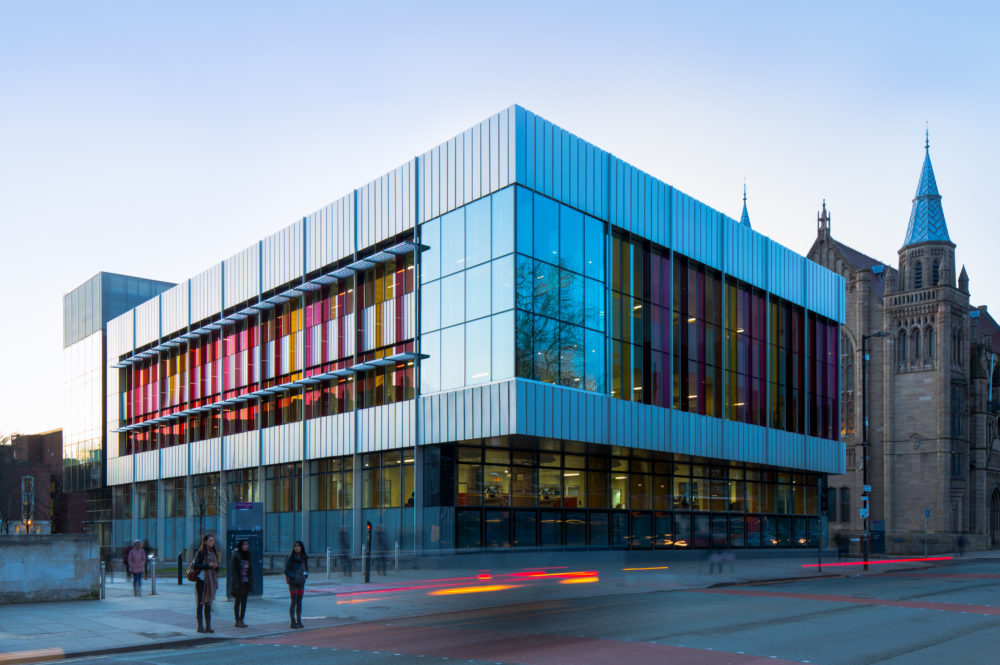 Exterior of Alan Gilbert Learning Commons