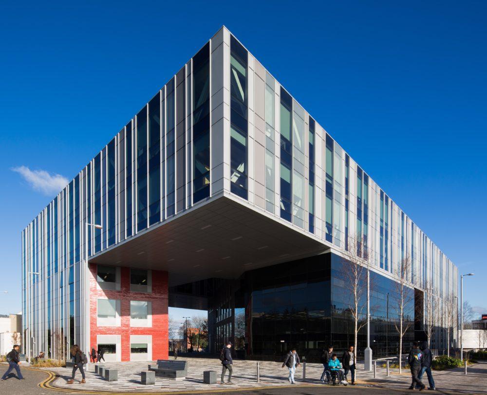Gilbert Building Salford University