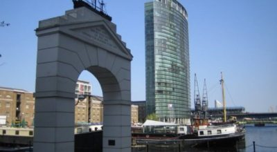 View of West India Quay