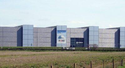 Exterior of Airbus