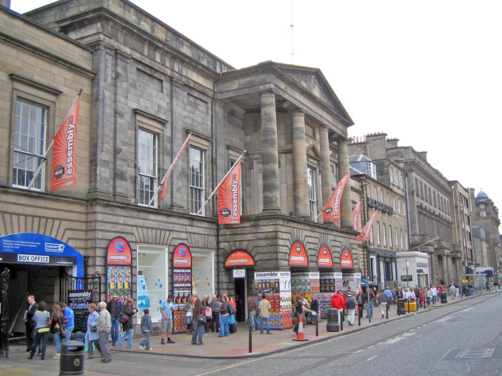 The Assembly Rooms, Edinburgh. Credit The Edinburgh Blog