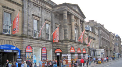 The Assembly Rooms, Edinburgh. Credit The Edinburgh Blog