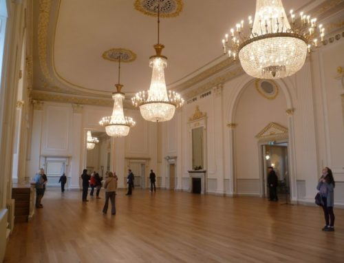 Internal view of Assembly Rooms, Edinburgh. Credit Kim Traynor
