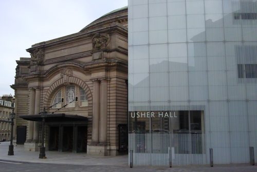 Usher Hall Extension .