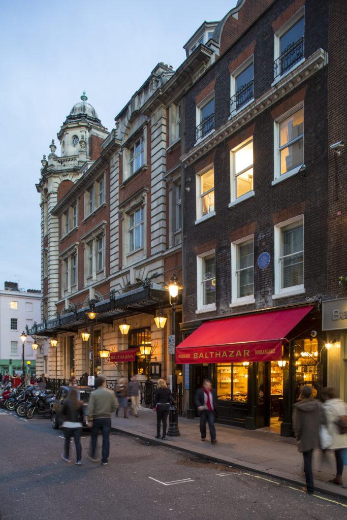 Balthazar, Covent Garden. Images courtesy of Capco Covent Garden